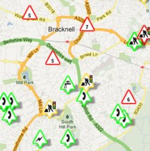 Roadworks finder